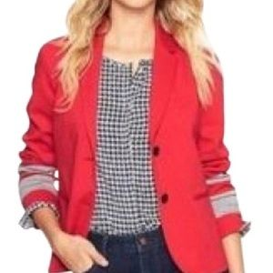 Gap The Academy Blazer in Red, 8 Tall